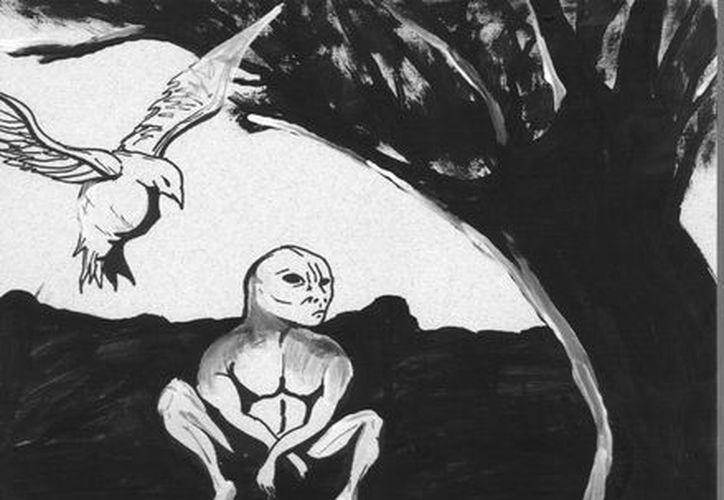 Extraños seres, que en realidad son almas en pena, aparecen en las milpas en época de Fieles Difuntos. (Jorge Moreno/SIPSE)