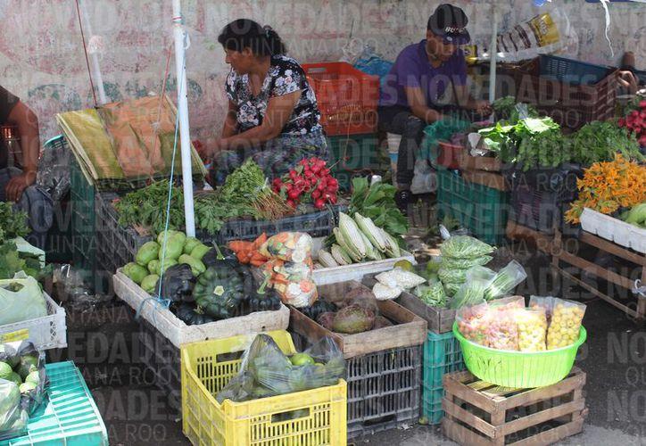 Durante la primera quincena de este mes de agosto, la variación de precios en la capital del estado fue de 0.84%, la cual rebasó por mucho la media nacional que se ubicó en apenas 0.31%. (Joel Zamora/SIPSE)