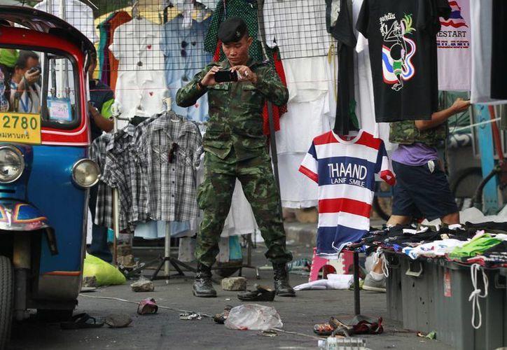 En el ataque resultó herida una veintena de personas. (Agencias)