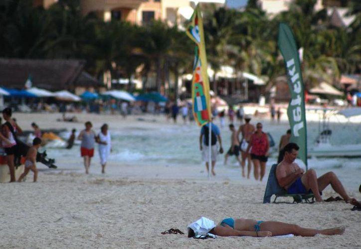 El turismo español tuvo una caída el año pasado. (Adrián Barreto/SIPSE)