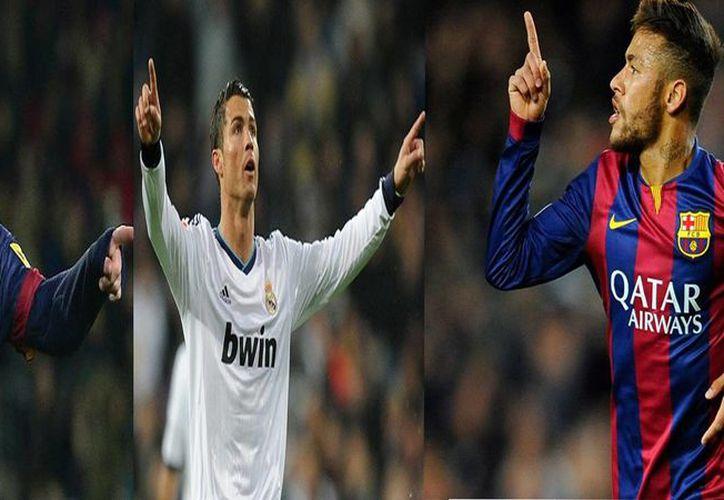 Lionel Messi, Cristiano Ronaldo y Neymar completan la lista de nominados al Balón de Oro. El ganador será anunciado el próximo 11 de enero durante una gala de la FIFA en Zúrich. (Imágenes de AP)