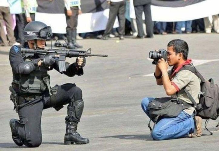 Por violencia en México, suman ya 16 periodistas desplazados. Foto: Noticia al Día)