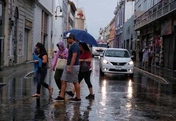 Al menos para las próximas horas no se esperan lluvias importantes para Yucatán. (Foto archivo SIPSE)