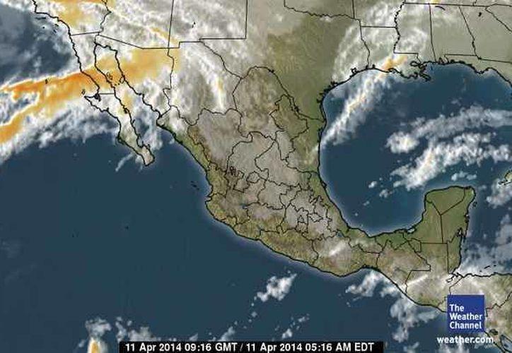 Se mantendrá el evento de Surada con rachas de hasta 60 kilómetros por hora a lo largo del litoral del Golfo de México. (Foto/espanol.weather.com)