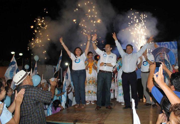 Cordero durante sus actividades del jueves en Yucatán. (SIPSE)