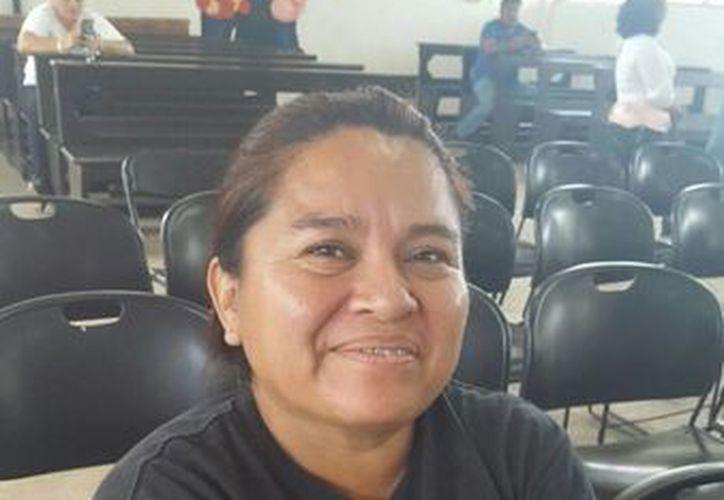 Dora Isabel Reyes Cob declaró que no dudará en inscribir a alguno de sus hijos en este proyecto.