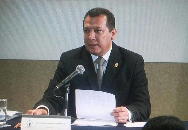 El titular de la CNDH pidió la reparación del daño para las familias de las víctimas del caso Tlatlaya. (Facebook/Comisión Nacional de los Derechos Humanos)