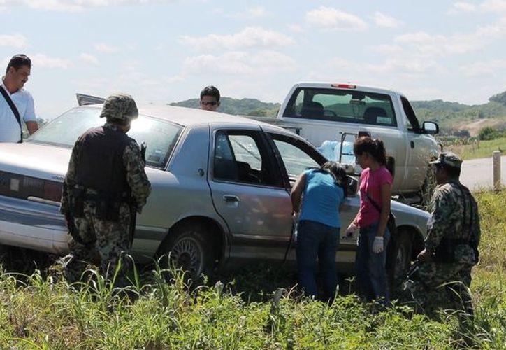 El asalto registrado el fin de semana pasado dejó como saldo una persona herida con arma de fuego. (Edgardo Rodríguez/SIPSE)