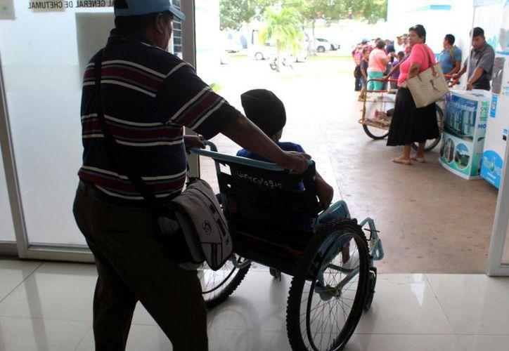 La Unidad Integral Especializada en Oftalmología y Retina en Quintana Roo se encuentra en el Hospital General de Playa del Carmen. (Joel Zamora/SIPSE)
