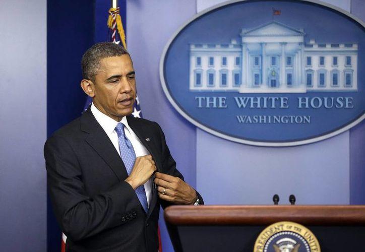 Obama viajará este jueves a México y Costa Rica. (Agencias)