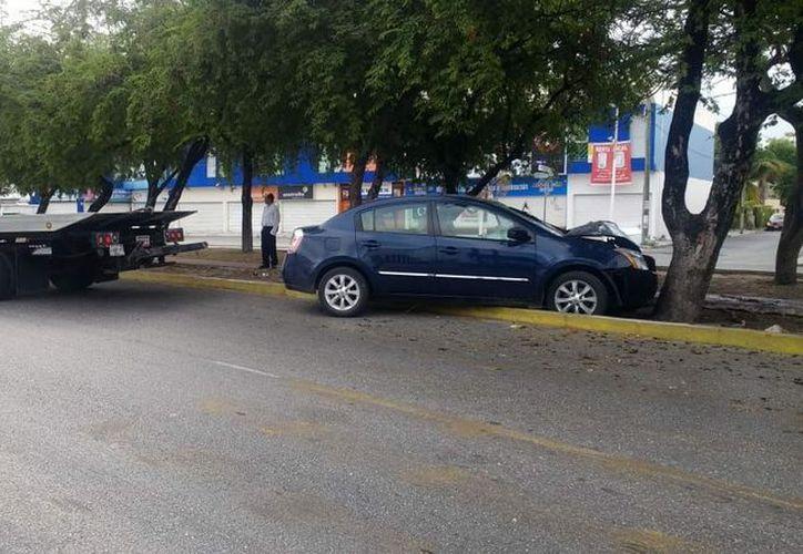 Los responsables del robo lograron darse a la fuga. (Foto: Redacción/SIPSE).
