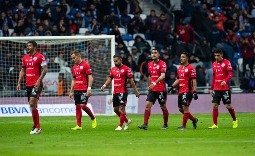 Lobos BUAP se quedan sin futbol. (Mexsport)