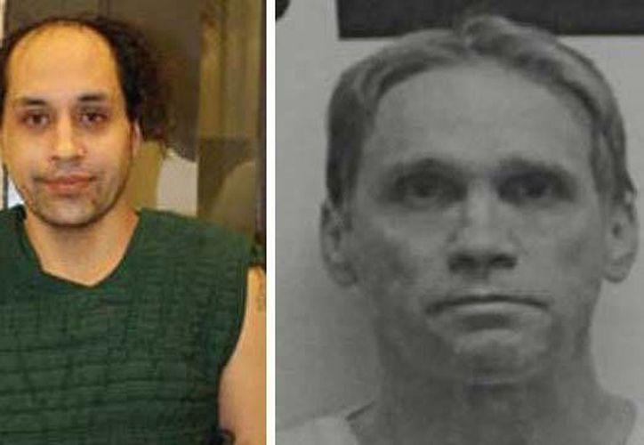 Roberto Venegas Fernández y su víctima, Michael Patrick McNaughton, a quien mató el 16 de noviembre. (Agencias)