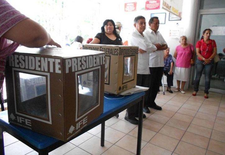 La población rural participa más en las actividades democráticas que la población urbana. (Edgardo Rodríguez/SIPSE)