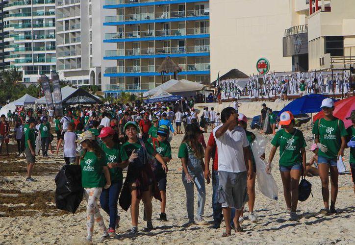 Contaron con la participación de más de dos mil voluntarios. (Paola Chiomante/ SIPSE)