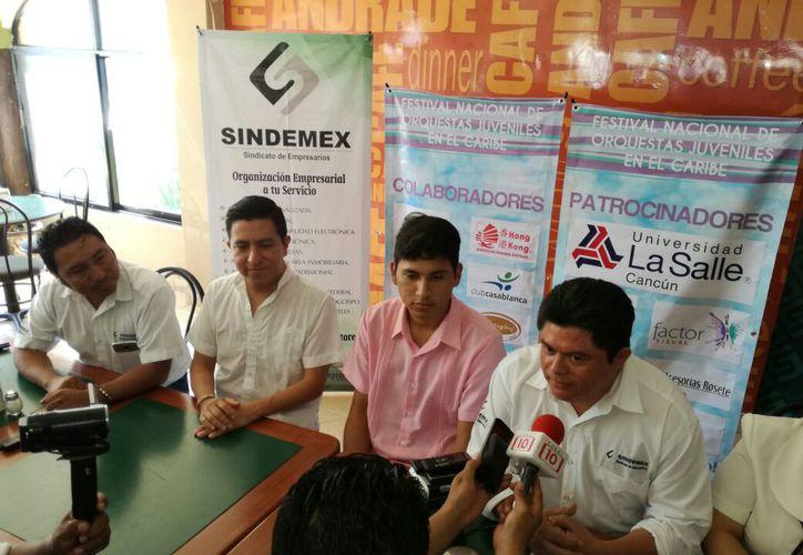 Fue presentado el evento en conferencia de prensa. (Daniel Pacheco/SIPSE)