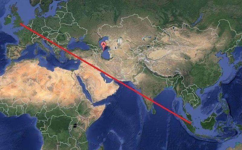 Avin con 494 personas aterriza con urgencia en azerbaiyn el avin de pasajeros que sali de londres con destino a singapur debi hacer la gumiabroncs Gallery
