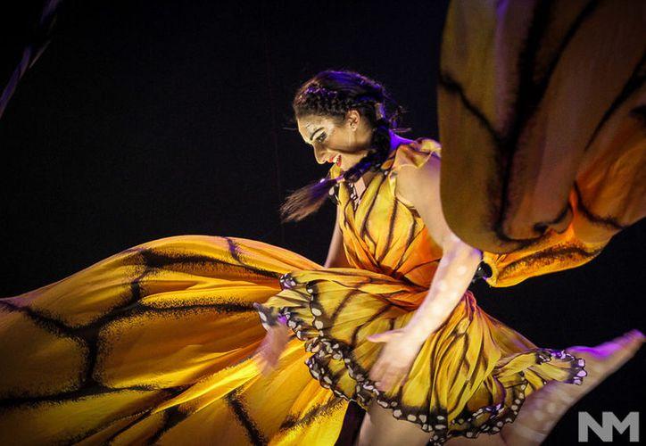 Para su audición en el Cirque du Soleil, Majo llegó tarde al perder el vuelo a Canadá, sin embargo convenció a los organizadores y consiguió el papel. (Foto: SIPSE)