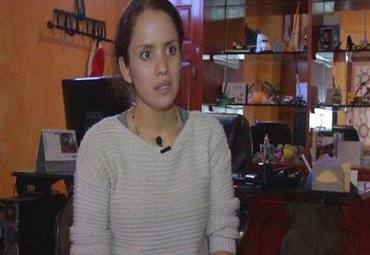Gabriela Berumen, hermana de la joven que fue detenida junto con los Abarca, habló sobre la relación de su familia con el exalcalde y su esposa. (Milenio)