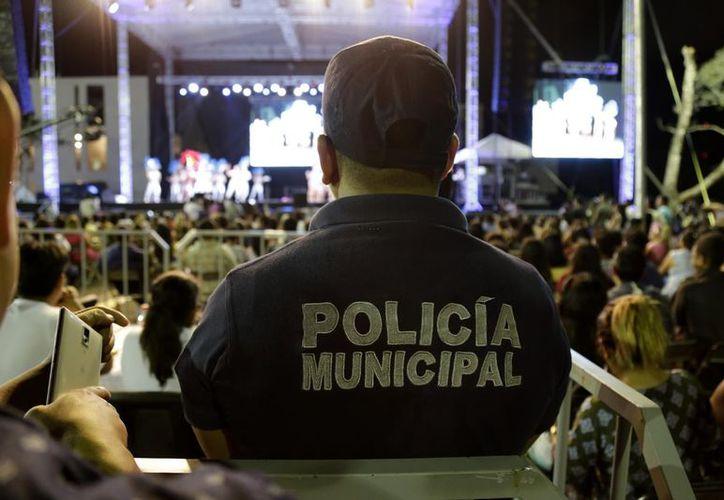 """Seguridad Municipal implementó el """"Operativo Carnaval"""", en conjunto con  la Policía Federal y Estatal. (Foto: Redacción)"""