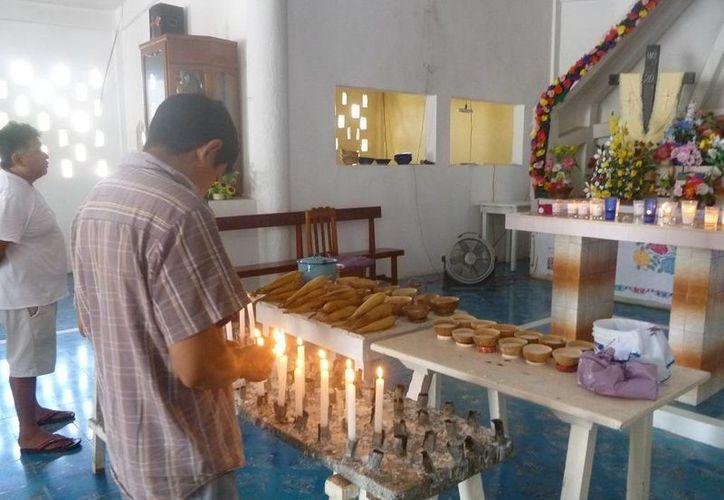 Las actividades se realizaron en la iglesia Inmaculada Concepción. (Raúl Balam/SIPSE)