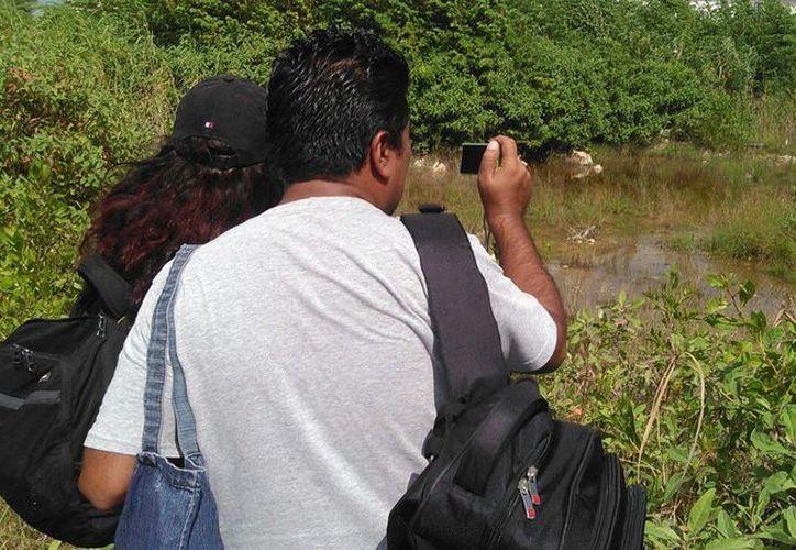 El recorrido inició a las 11 de la mañana y acudieron algunos ambientalistas. (Arely Vázquez/SIPSE)
