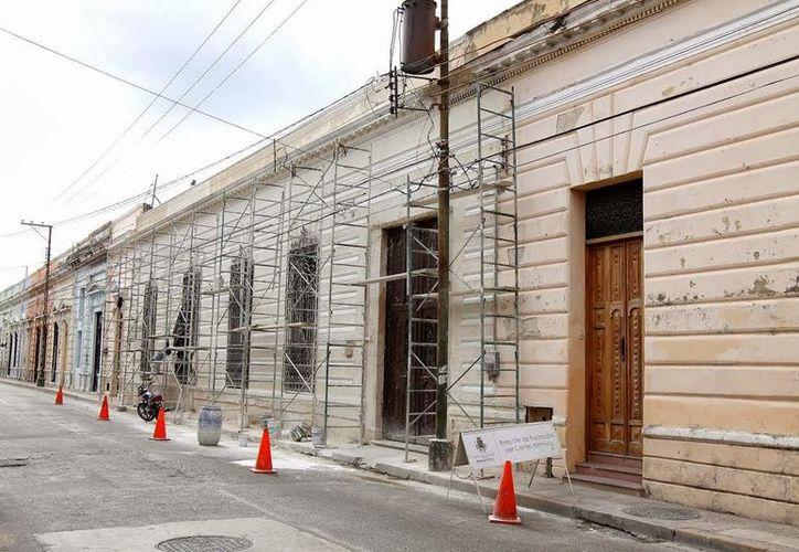 El rescate de fachadas mejora la imagen urbana de la ciudad. (Milenio Novedades)