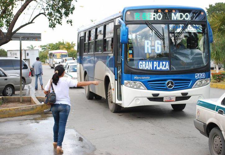 Los permisos para la operación de la ruta aún no se presentan al municipio. (Tomás Álvarez/SIPSE)