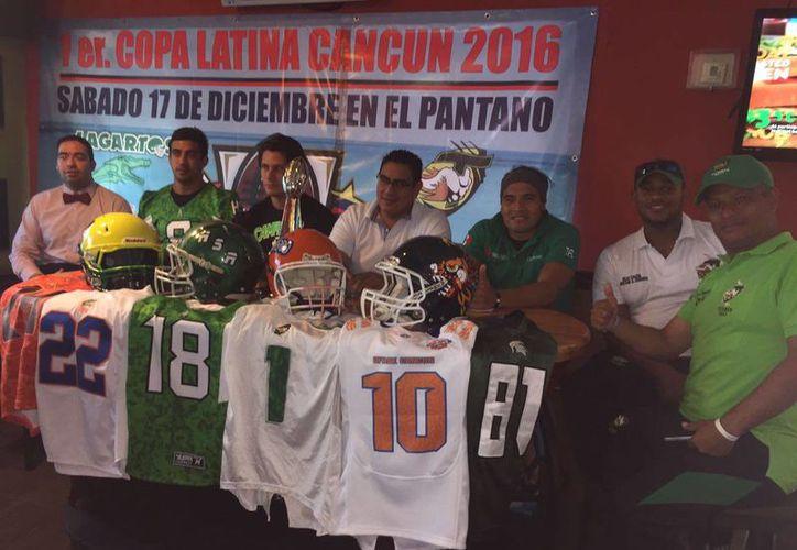 Presentaron el torneo a disputarse a round robin. (Raúl Caballero/SIPSE)