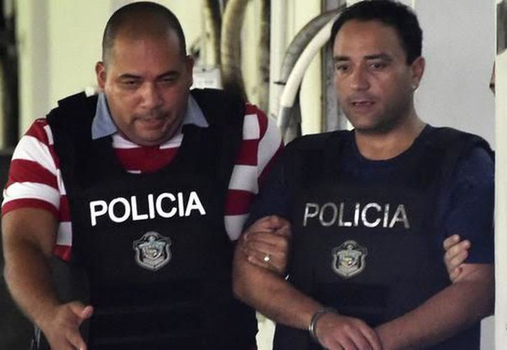 Roberto Borge Angulo ya se encuentra en manos de la cancillería panameña, a la espera de una nueva audiencia para definir su extradición. (Twitter)