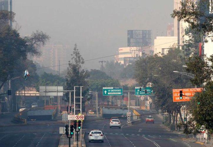 La contaminación ambiental en el valle de México ha obligado a los autoridades del DF suspender actividades al aire libre. (Archivo/NTX)