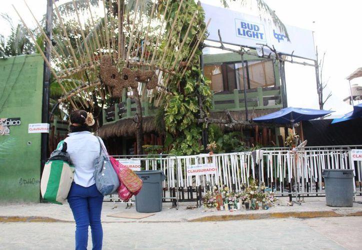 Luego de que se desahoguen las investigaciones se comenzará la construcción de un hotel-discoteca. (Foto: Octavio Martínez)