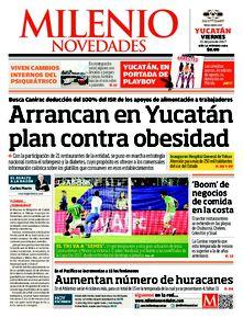 Arrancan en Yucatán plan contra obesidad