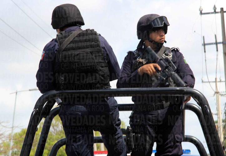 Cada estado aportará elementos policíacos para conformar el cuerpo policial. (Luis Soto/SIPSE)