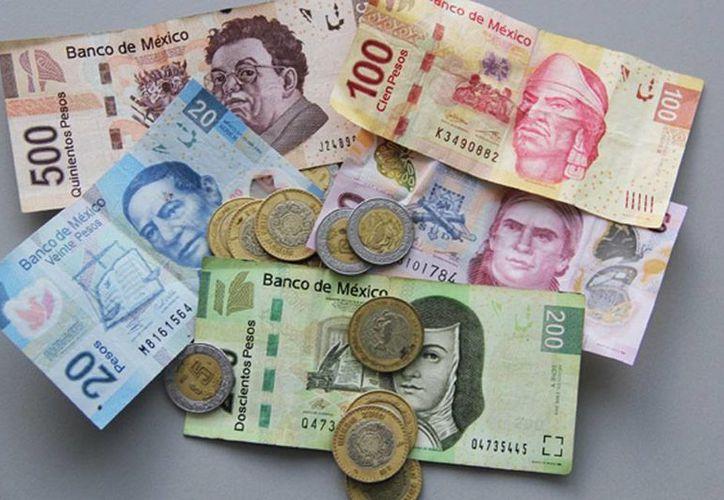 El salario mínimo en la zona geográfica B se incrementó 2.5 %. A partir del 1 de abril, el mínimo diario será de 68.28 pesos. (Notimex/Archivo)
