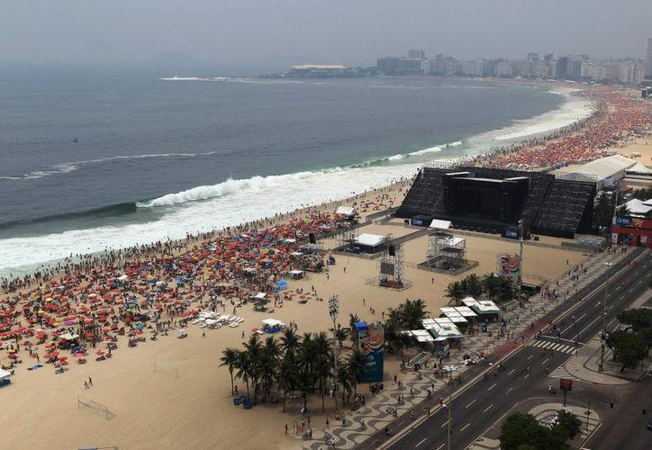 La fiesta se concentrará en los cuatro kilómetros de arenas blancas de la playa y en el malecón. (EFE)