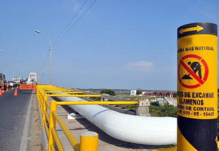 El gasoducto El Encino-La Laguna está contemplado en la licitación emitida el lunes por la CFE. La imagen es de referencia. (obrasweb.mx)