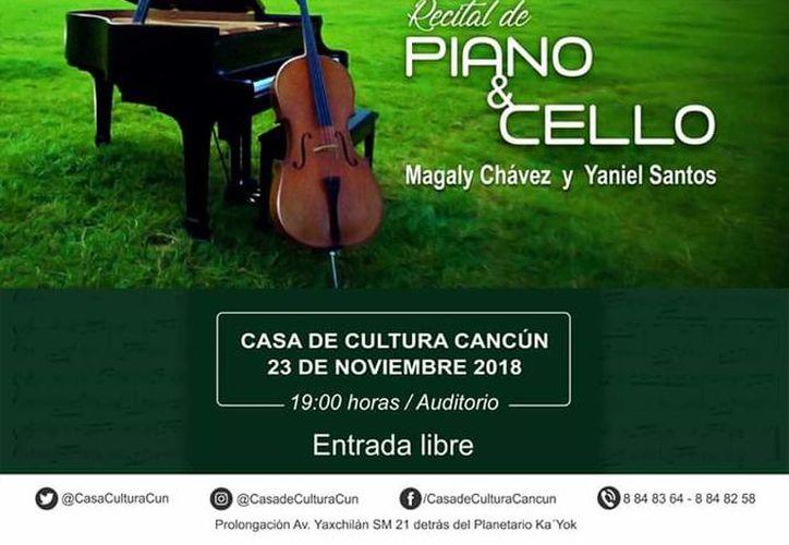 El concierto se llevará a cabo en el auditorio de la Casa de la Cultura. (Faride Cetina/SIPSE)