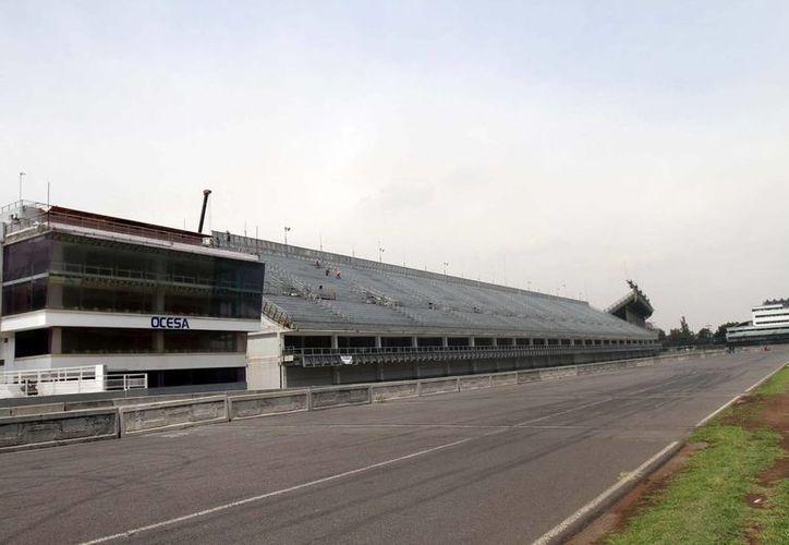 El Autódromo Hermanos Rodríguez será remodelado para albergar el Gran Premio de Fórmula Uno en México, por primera vez en 23 años. (Notimex/Foto de archivo)