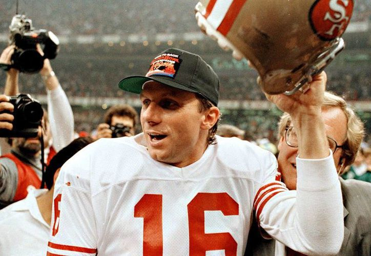 En referencia a Tom Brady, Joe Montana resaltó que hay jugadores de otras épocas que también pueden presumir muchos campeonatos de Super Bowl. (Foto tomada de vavel.com)