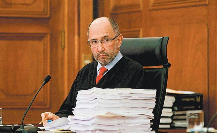 José Ramón Cossío emitió el acuerdo de los ministros. (Milenio)