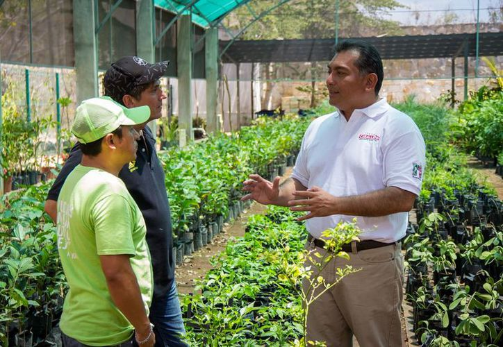 Víctor Caballero Durán pidió el apoyo de los expertos y de las organizaciones sociales relacionadas con el cuidado del medio ambiente. (Milenio Novedades)