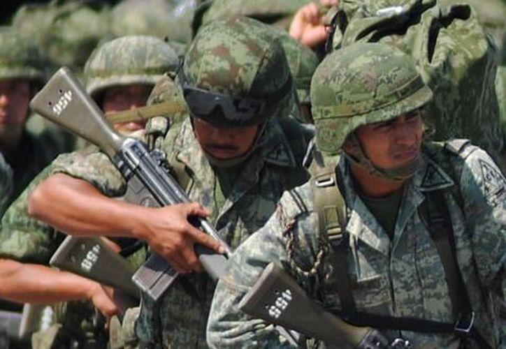 La Sedena asegura que el fuero militar tiene sustento constitucional y 'no es un fuero de privilegio'. (Archivo Notimex)