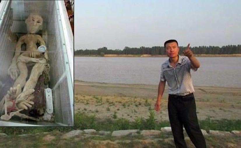Las autoridades dijeron que Li gastó 120 yuanes (16 dólares) para armar el muñeco con materiales comprados en un supermercado. (actualidad.rt)