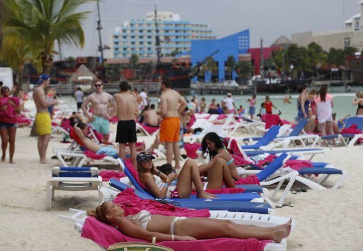 El mercado estadounidense se consolida en Cancún. (Israel Leal/SIPSE)