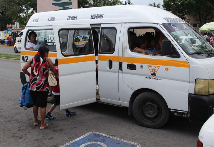 Entre los proyectos se encuentra el tener un mejor transporte público. (Joel Zamora/SIPSE)