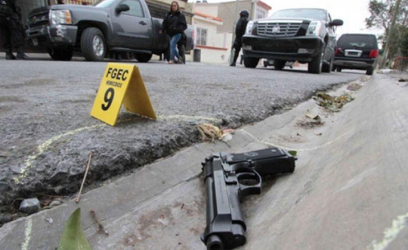 La Secretaría de Seguridad Pública (SSP) de Tamaulipas informó de la muerte de cuatro hombres armados. (Contexto/Internet).