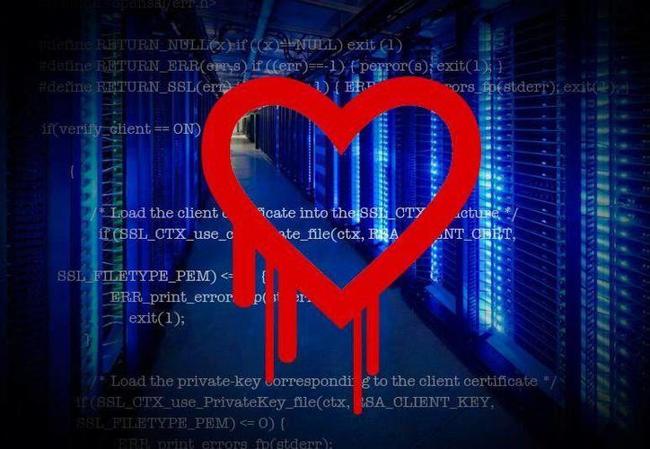 Hasta el momento, pocos portales de Internet han reconocido la afectación de la falla 'Heartbleed', aunque se cree que el virus se ha esparcido ampliamente. (Imagen: Especial)