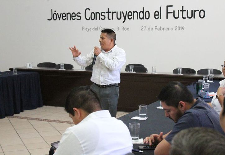 Ayer fue presentado el programa Jóvenes Construyendo Futuro. (Adrián Barreto/SIPSE)