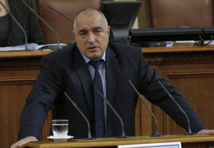 El primer ministro búlgaro Boyko Borisov. (EFE)